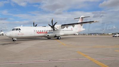 الخطوط التونسية تتسلم  الطائرة الجديدة ثنائية المحرك 'آ تي آر'