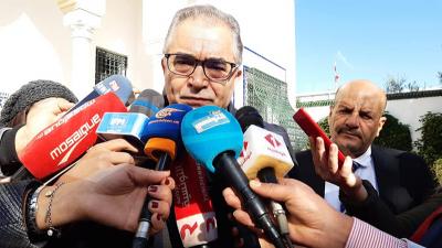 Habib Jemli reçoit une délégation de Machrouû Tounes