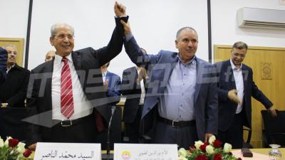 الاتحاد العام التونسي للشغل يكرم رئيس الجمهورية السابق محمد الناصر