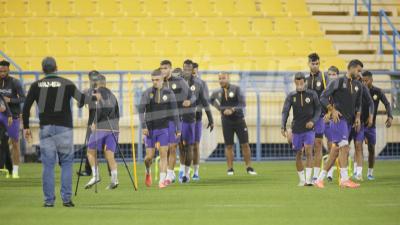 Mondial des clubs 2019 : 1ère séance d'entrainement de l'Esperance S.Tunis à Doha