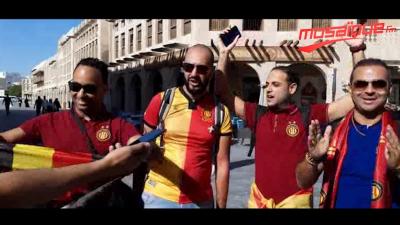 Les fans de l'EST au Qatar: nous espérons la victoire