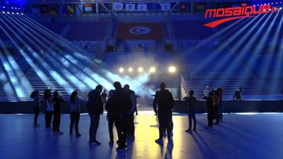 Les coulisses de l'ouverture de la CAN de handball