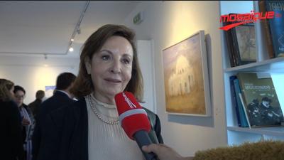 L'exposition ''Soufisme'' de l'artiste peintre Alia Fayache Belkhodja à Villa Tanit