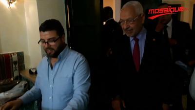 Ghannouchi présent dans une soirée féminine de Tarab à Sousse