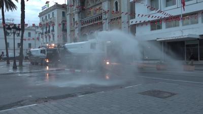 Coronavirus : Campagne de désinfection au gouvernorat de Tunis