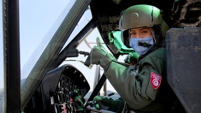 Mosaïque accompagne l'armée de l'air : Inspection du degré de respect du confinement général