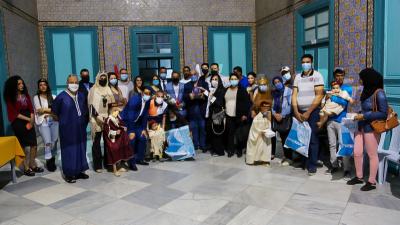 حفل ختان مصغر لفائدة عدد من أطفال ولاية اريانة بتنظيم جمعية أمنيتي وبلدية الجهة