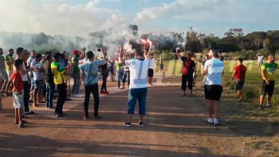 لاعبو القوافل يستأنفون التمارين استعدادا لمقابلتي الباراج