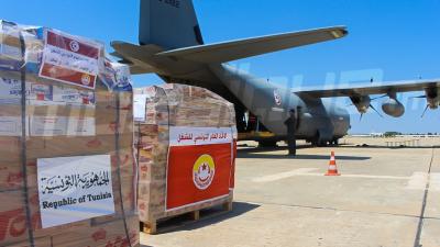 Un avion militaire pour transporter des aides de l'UGTT au Liban