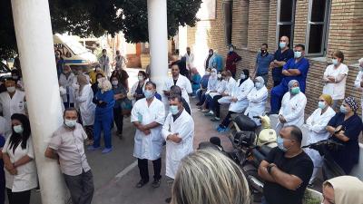 القيروان: شلل تام في مستشفيي الأغالبة وابن الجزار بسبب كورونا