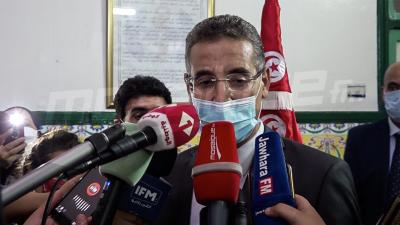 Le ministre de l'Intérieur en visite à l'hôpital des forces de la sécurité de La marsa