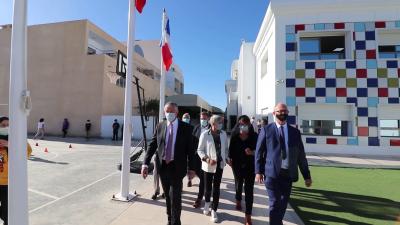 EIS Sfax :  Visite de son excellence Monsieur l'Ambassadeur de France en Tunisie