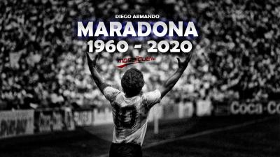 Adieu Maradona ...