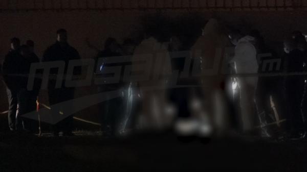 لحظة استخراج جثة الشاب محمود ثابت