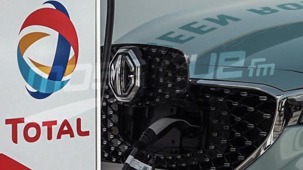 'طوطال تونس' و'إم جي موتورز' تنظمان أوّل رحلة على متن سيارة كهربائية