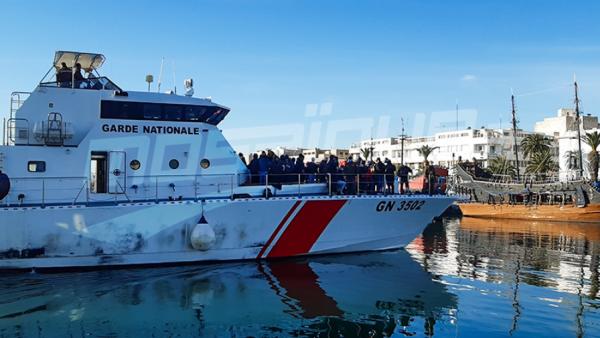 سوسة: ضبط قاربي مهاجرين على متنهما 100 شخص