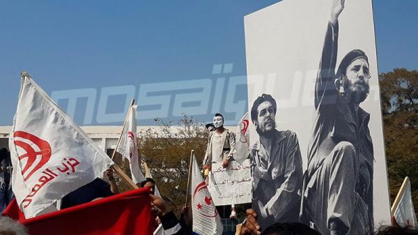 مسيرة لأنصار حزب العمّال