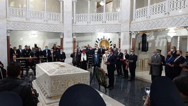 زيارة رئيس الحكومة هشام مشيشي لمدينة المنستير لاحياء الذكرى 65 لعيد الاستقلال