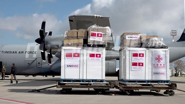 وصول 200 ألف جرعة من لقاح ''سينوفاك'' إلى تونس