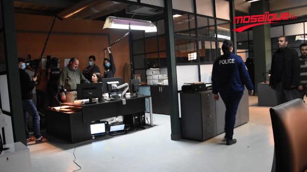 Les coulisses de la nouvelle série télévisée ' 13 Rue Garibaldi '