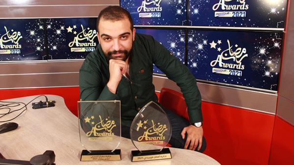 رمضان أواردز 2021: جائزة سفيان الشعري لنجم رمضان 2021 لعزيز الجبالي
