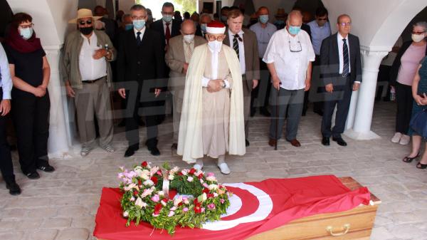 Funérailles de Hichem Djaït