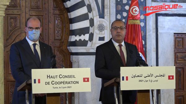 Conférence de presse conjointe entre le chef du gouvernement et le premier ministre français