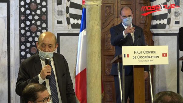 Le Drian: La Tunisie est le quatrième pays à obtenir les visas vers la France
