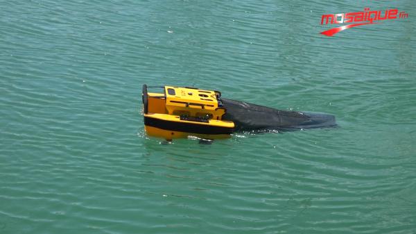 Un robot pour collecter les déchets dans les ports