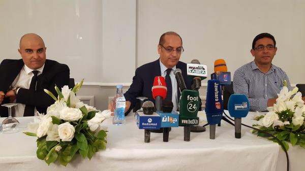 الندوة الصحفية لهلال الشابة بعد صدور قرار الطاس