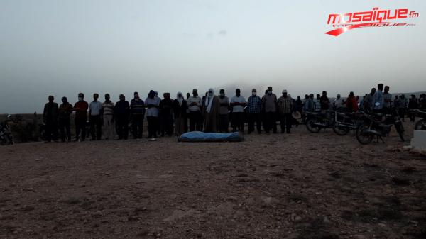 Funérailles du jeune homme tué dans l'explosion d'une mine au Mont Sammama