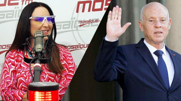 مريم بن حسين : ان تخيرني أن أكون إبنة رئيس لا أكون الا ابنة الحبيب بورقيبة وقيس سعيد لا يمثلني