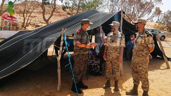 الجيش الوطني: خيمات للتلقيح في عمق صحراء تطاوين