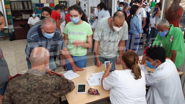 تواصل عملية التلقيح بمدينة رادس