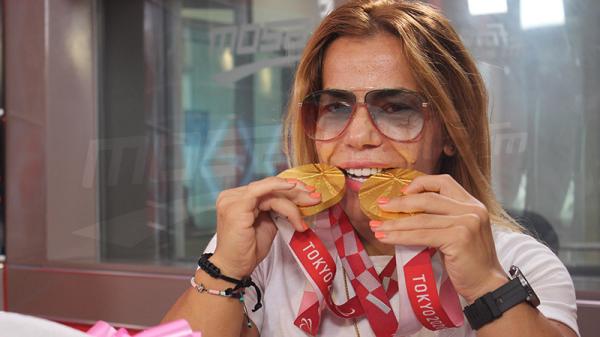 Raoua Tlili fait preuve de persévérance et joue pour battre des record et non seulement pour les médailles