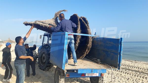 Sousse: Démolition de constructions illégales bâtis sur le domaine maritime public