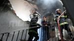 حريق سوق بومنديل: الحماية المدنية تتدخل
