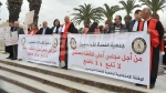 Les magistrats protestent devant le siège de l'ARP
