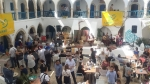 Des journalistes et propriétaires d'agences de voyages Français, Belges et Luxembourgeois à Djerba