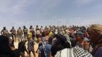 El Kamour : les sit-inneurs ferment la station de pompage