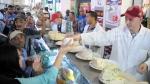 Zied Laadhari en visite au marché central