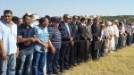 Sidi Bouzid : funérailles du martyr Majdi Hajlaoui