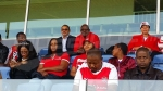 Mbababe Swallows - Club S.Sfaxien: l'ambiance d'avant-match