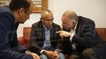 Bouchamaoui et Jarii reçoivent Ahmed, président de la Confédération Africaine du football