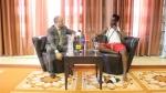 Conférence de Presse du rappeur Black M avant son spectacle à Carthage