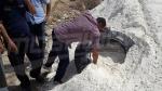 القصرين:إحباط محاولة تهريب إطارات مطاطية مخفية وسط الرمل داخل شاحنة