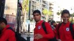 لاعبو النادي الصفاقسي يغادرون النزل باتّجاه الملعب