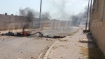 الغاز المسيل للدموع لفك الإعتصام أمام مصنع السياب بصفاقس