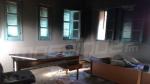 Souk Lahad: traces de l'incendie du siège de la délégation