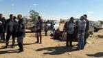 Tataouine: Une marche protestataire des éleveurs de bétails devant le  poste de la douane